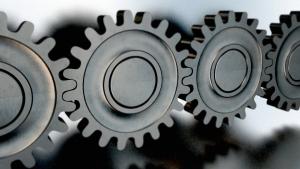 grained gears