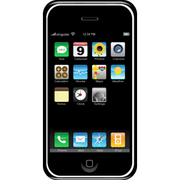 Apple iPhone (Bild von www.iconfinder.com)